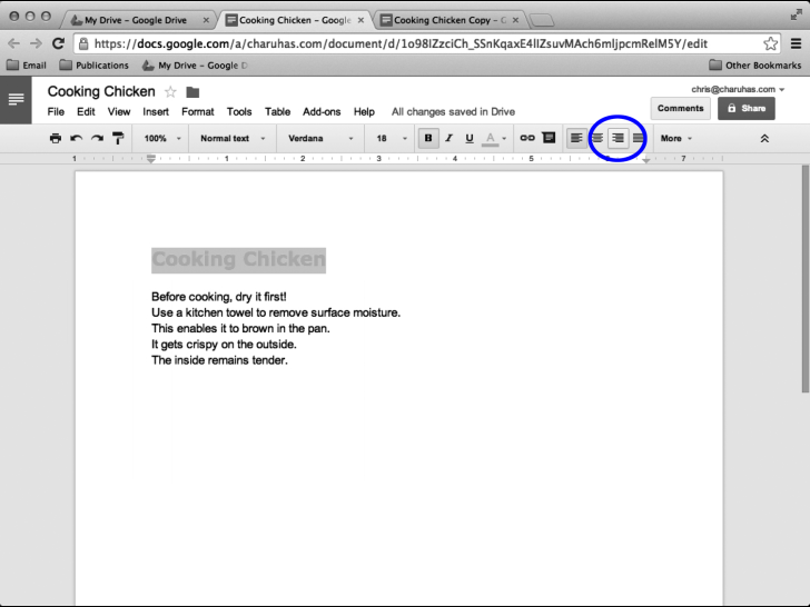 how to change profile picture in google docs