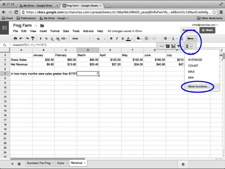 Google Sheets In Pictures
